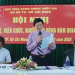 HỘI NGHỊ CÁN BỘ, VIÊN CHỨC, NGƯỜI LAO ĐỘNG NĂM 2014