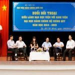 Đối thoại giữa Lãnh đạo Học viện với sinh viên Đại học Hành chính hệ chính quy năm 2015