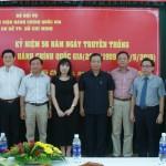 Lễ kỷ niệm 56 năm ngày thành lập Học viện Hành chính Quốc gia tại Cơ sở Tp.Hồ Chí Minh