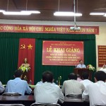 LỄ KHAI GIẢNG  Khoá Bồi dưỡng kiến thức quản lý nhà nước chương trình chuyên viên chính năm 2015 tại Phân viện khu vực Tây Nguyên