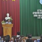 Lễ khai giảng lớp Bồi dưỡng Kiến thức quản lý nhà nước Chương trình chuyên viên   Năm 2015 tổ chức tại huyện Cư Jút, tỉnh Đắk Nông