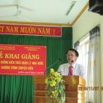 LỄ KHAI GIẢNG  Lớp Bồi dưỡng Kiến thức quản lý nhà nước Chương trình chuyên viên   Năm 2015 tổ chức tại huyện Ea H'leo, tỉnh Đắk Lắk