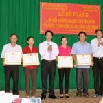 Phân viện khu vực Tây Nguyên tổ chức Lễ bế giảng lớp bồi dưỡng ngạch chuyên viên tại huyện Cư Jút, tỉnh Đắk Nông