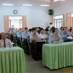 Lễ khai giảng Đào tạo trình độ thạc sĩ đợt 1 năm 2016 mở tại  Phân viện khu vực Tây Nguyên