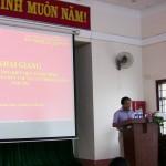 Khai giảng lớp bồi dưỡng kiến thức hành chính cho cán bộ, công chức cấp xã của tỉnh ĐắkNông