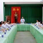Phân viện khu vực Tây Nguyên tổ chức Lễ trao quyết định nghỉ hưu cho hai cán bộ lãnh đạo chủ chốt