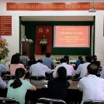 Phân viện khu vực Tây Nguyên tổ chức Lễ khai giảng lớp bồi dưỡng ngạch chuyên viên chính khóa I năm 2017