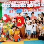 Công đoàn bộ phận, Tổ Nữ công phối hợp với Chi đoàn Thanh niên Phân viện khu vực Tây Nguyên tổ chức hoạt động Bé vui Tết thiếu nhi nhân ngày Quốc tế thiếu nhi