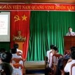 Phân viện khu vực Tây Nguyên tổ chức Lễ khai giảng Lớp Bồi dưỡng ngạch chuyên viên chính tại huyện Tuy Đức, tỉnh Đắk Nông năm 2017