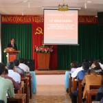 Phân viện khu vực Tây Nguyên tổ chức Khai giảng lớp Bồi dưỡng ngạch chuyên viên tại huyện Đắk Mil tỉnh Đắk Nông