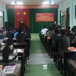 Phân viện khu vực Tây Nguyên tổ chức khai giảng Lớp Bồi dưỡng ngạch chuyên viên tại huyện Cư Jút, tỉnh Đắk Nông năm 2017