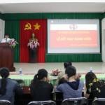 Chi bộ Phân viện khu vực Tây Nguyên tổ chức lễ kết nạp đảng viên cho quần chúng ưu tú