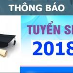 Kế hoạch tuyển sinh cao học đợt 2 năm 2018 của trường Đại học Khoa học, Đại học Huế tại Phân viện Học viện Hành chính Quốc gia khu vực Tây Nguyên