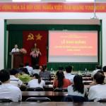 Lễ khai giảng lớp Bồi dưỡng ngạch chuyên viên Khóa II/2018 tổ chức tại Phân viện Học viện Hành chính Quốc gia khu vực Tây Nguyên