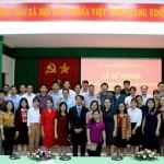Lễ bế giảng lớp Bồi dưỡng ngạch chuyên viên khóa III/2018 mở tại Phân viện Học viện Hành chính Quốc gia khu vực Tây Nguyên