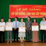 Bế giảng Lớp bồi dưỡng Lãnh đạo cấp phòng tại huyện Krông Pắk tỉnh Đắk Lắk năm 2019