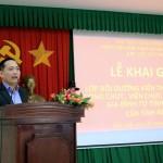 Khai giảng Lớp bồi dưỡng kiến thức cho đội ngũ công chức, viên chức làm công tác về gia đình từ tỉnh đến cơ sở của tỉnh Đắk Lắk