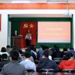 Khai giảng Lớp bồi dưỡng về Quản lý đất đai của Ủy ban Nhân dân thành phố Buôn Ma Thuột tỉnh Đắk Lắk