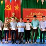 Lễ bế giảng lớp bồi dưỡng ngạch chuyên viên mở tại huyện Tuy Đức, tỉnh Đắk Nông