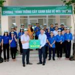 Chi đoàn Phân viện Học viện Hành chính Quốc gia khu vực Tây Nguyên phát động lễ trồng cây bảo vệ môi trường
