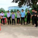 Tập huấn, tuyên truyền nghiệp vụ về phòng cháy chữa cháy và cứu hộ cứu nạn tại Phân viện Học viện Hành chính Quốc gia khu vực Tây Nguyên