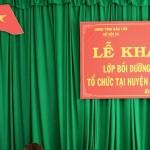 Khai giảng Lớp bồi dưỡng ngạch chuyên viên phối hợp với Sở Nội vụ tỉnh Đắk Lắk tổ chức tại huyện Krông Pắc, tỉnh Đắk Lắk