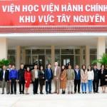 Khai giảng Lớp bồi dưỡng kỹ năng lãnh đạo và quản lý chiến lược trong bối cảnh cách mạng công nghiệp 4.0 tại Phân viện Học viện Hành chính Quốc gia khu vực Tây Nguyên