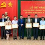 Phân viện Học viện Hành chính Quốc gia khu vực Tây Nguyên tổ chức Lễ bế giảng lớp bồi dưỡng lãnh đạo, quản lý cấp sở và tương đương khóa 20 và 30 năm 2020