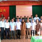 Lễ bế giảng lớp bồi dưỡng lãnh đạo, quản lý cấp phòng và tương đương tại Phân viện Học viện Hành chính Quốc gia khu vực Tây Nguyên