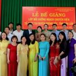 Bế giảng lớp bồi dưỡng ngạch chuyên viên phối hợp với Sở Nội vụ tổ chức tại huyện Krông Pắk, tỉnh Đắk Lắk