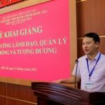 Lễ khai giảng Lớp Bồi dưỡng lãnh đạo, quản lý cấp phòng phối hợp với Sở Giáo dục đào tạo tỉnh Đắk Lắk