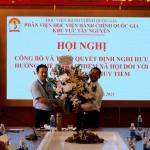 Lễ công bố và trao Quyết định nghỉ hưu trước tuổi hưởng chế độ bảo hiểm xã hội đối với ThS Nguyễn Huy Tiềm tại Phân viện Học viện Hành chính Quốc gia khu vực Tây Nguyên