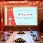 Lễ khai giảng Lớp Bồi dưỡng lãnh đạo, quản lý cấp phòng  phối hợp với Phòng Nội vụ huyện Ea Súp, tỉnh Đắk Lắk