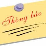 THÔNG BÁO Số 48/TB-PVH ngày 22/5/2019 về việc tuyển sinh lớp Bổi sung kiến thức chuyên ngành Luật Hiến pháp và Luật Hành chính để dự thi đào tạo trình độ thạc sĩ đợt 2 năm 2019
