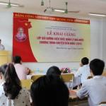 Khai giảng lớp Bồi dưỡng kiến thức Quản lý nhà nước chương trình chuyên viên khóa I năm 2015 tại Cơ sở Học viện Hành chính khu vực miền Trung
