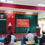 Cơ sở Học viện Hành chính khu vực miền Trung tổ chức khai giảng lớp Đại học Hành chính KH14-TC109, văn bằng 1,  hình thức vừa làm vừa học tại Quảng Trị