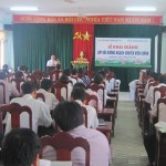 Lễ khai giảng lớp Bồi dưỡng kiến thức QLNN chương trình chuyên viên chính năm 2015 tại tỉnh Quảng Nam
