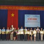 Cơ sở Học viện Hành chính khu vực miền Trung tổ chức Lễ bế giảng 02 lớp Bồi dưỡng kiến thức Quản lý nhà nước chương trình Chuyên viên năm 2015 tỉnh Quảng Ngãi