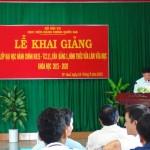 Cơ sở Học viện Hành chính khu vực miền Trung tổ chức Lễ khai giảng lớp Đại học Hành chính KH15-TC111, văn bằng 1, hình thức vừa làm vừa học