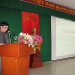 Cơ sở Học viện Hành chính khu vực miền Trung tổ chức bế giảng lớp bồi dưỡng kiến thức Quản lý nhà nước chương trình chuyên viên khóa I năm 2016