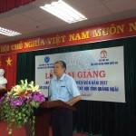Khai giảng lớp Bồi dưỡng ngạch Chuyên viên năm 2017 cho cán bộ, viên chức Bảo hiểm xã hội tỉnh Quảng Ngãi