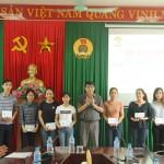 Bế giảng lớp Bồi dưỡng Kỹ năng và nghiệp vụ hành chính khóa 1 năm 2017 tại Cơ sở Học viện Hành chính Quốc gia khu vực miền Trung