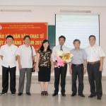 Cơ sở Học viện Hành chính Quốc gia khu vực miền Trung tổ chức bảo vệ luận văn thạc sĩ đợt IV năm 2017
