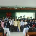 Lễ Bế giảng và trao bằng tốt nghiệp lớp Đại học Hành chính  KH12-TC97 văn bằng 1 hệ vừa học vừa làm