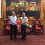 Giám đốc Học viện Hành chính Quốc gia làm việc với Ủy ban Nhân dân tỉnh Thừa Thiên Huế