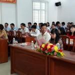Khai giảng lớp Bồi dưỡng ngạch Chuyên viên chính năm 2018 tại tỉnh Bình Định