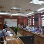 Phó Giám đốc Học viện Hành chính Quốc gia làm việc với Ủy ban nhân dân tỉnh Quảng Nam