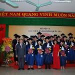 Lễ bế giảng và trao bằng Thạc sỹ tại Phân viện Học viện Hành chính Quốc gia tại thành phố Huế