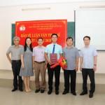 Phân viện Học viện Hành chính Quốc gia tại thành phố Huế tổ chức Bảo vệ luận văn Thạc sĩ đợt I năm 2019