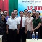 Khai giảng lớp Bồi dưỡng lãnh đạo, quản lý cấp huyện năm 2019 tại tỉnh Quảng Nam